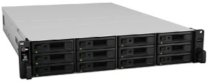 "Synology Expansion Unit (Rack 2U) for RS3617xs, RS3617RPxs, RS3617xs+ (up to 12 Hot Plug HDDs SATA/3.5"" or 2.5""), 2xRPS incl Cable"