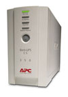 Back-UPS CS 350VA/210W, 230V, USB, Data line surge protection, user repl. batt., PowerChute (BK350EI)