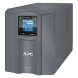 APC Smart-UPS C 2000VA/1300W, 230V, Line-Interactive, Out: 220-240V 6xC13/1xC19, LCD, Gray, 1 year warranty, No CD/cables (SMC2000I-RS)