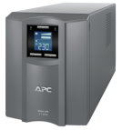 APC Smart-UPS C 1000VA/600W, 230V, Line-Interactive, Out: 220-240V 8xC13, LCD, Gray, 1 year warranty, No CD/cables (SMC1000I-RS)