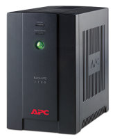 APC Back-UPS RS, 1100VA/660W, 230V, AVR, 4xRussian outlets (4 batt.), Data/DSL protection, user repl. batt., 2 year warranty (BX1100CI-RS)