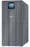 APC Smart-UPS C 3000VA/2100W, 230V, Line-Interactive, Out: 220-240V 6xC13/1xC19, LCD, Gray, 1 year warranty, No CD/cables (SMC3000I-RS)