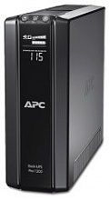 APC Back-UPS Power Saving RS, 1200VA/720W, 230V, AVR, 6xRus outlets (3 Surge & 3 batt.), Data/DSL protrct, 10/100 Base-T, USB, PCh, user repl. batt., 2 y warr. (BR1200G-RS)