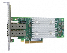 HP SN1100Q 16Gb 2-port Fibre Channel Host Bus Adapter (incl. 2 x 16 Gbps SFP+, incl. h/h & f/h. brckts), PCI-E 3.0 (LC Connector)