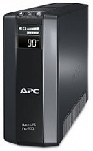 APC Back-UPS Power Saving RS, 900VA/540W, 230V, AVR, 5xRus outlets (2 Surge & 3 batt.), Data/DSL protrct, 10/100 Base-T, USB, PCh, user repl. batt., 2 y warr. (BR900G-RS)
