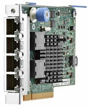 HP Ethernet 1Gb 4-port 366FLR Adapter (Intel), x4 PCIe 2.0/FlexibleLOM slot
