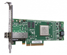HP SN1100Q 16Gb 1-port Fibre Channel Host Bus Adapter (incl. 16 Gbps SFP+, incl. h/h & f/h. brckts), PCI-E 3.0 (LC Connector)