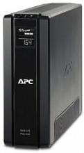 APC Back-UPS Power Saving RS, 1500VA/865W, 230V, AVR, 6xRus outlets (3 Surge & 3 batt.), Data/DSL protrct, 10/100 Base-T, USB, PCh, user repl. batt., 2 y warr. (BR1500G-RS)