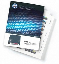 HP Ultrium 8 RW 30TB Bar code label pack (100 data + 10 cleaning)  for C7975A (for libraries & autoloaders)